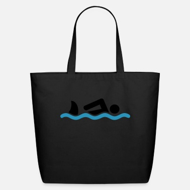 Swim swimming - Eco-Friendly Cotton Tote