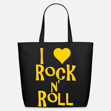 Rock N Roll i love rock n' roll - Eco-Friendly Cotton Tote