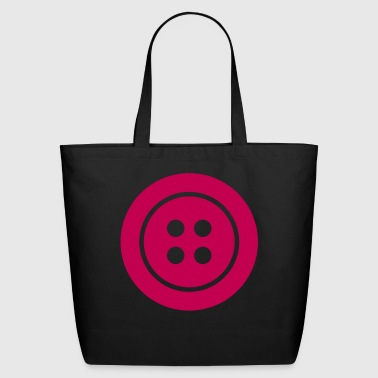 Button Knob - Eco-Friendly Cotton Tote