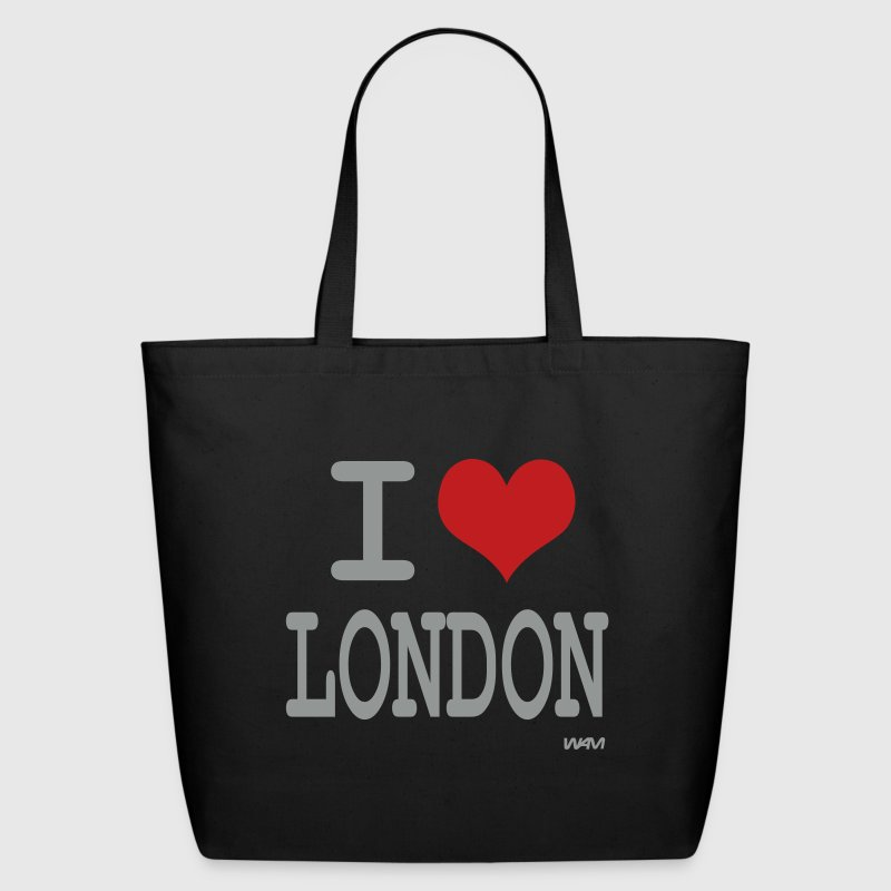i love london by wam - Eco-Friendly Cotton Tote