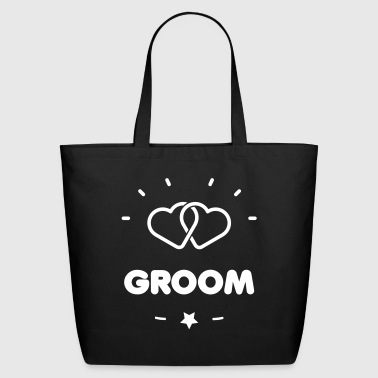 Groom GROOM HEART - Eco-Friendly Cotton Tote