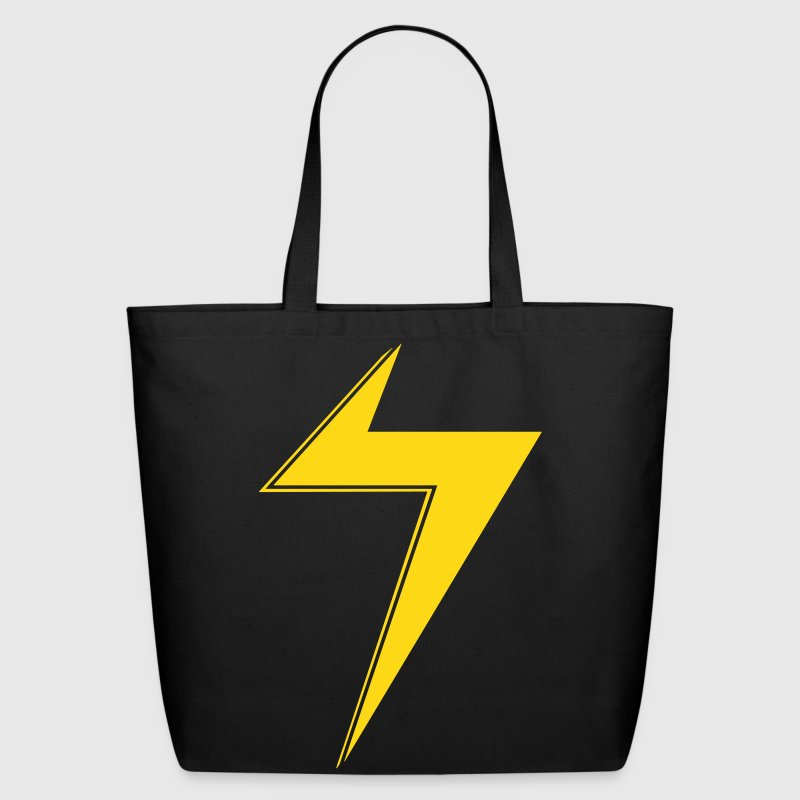 Ms Marvel Bolt - Eco-Friendly Cotton Tote
