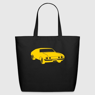 old vintage ford or holden car - Eco-Friendly Cotton Tote
