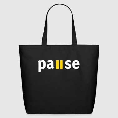 Pause - Eco-Friendly Cotton Tote