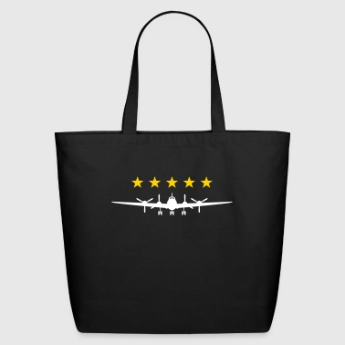 Propeller Aircraft - Eco-Friendly Cotton Tote
