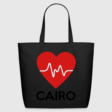 Heart Cairo - Eco-Friendly Cotton Tote