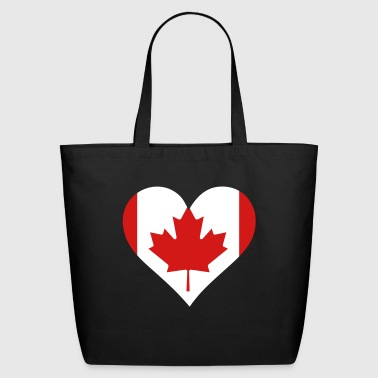 A Heart For Canada - Eco-Friendly Cotton Tote