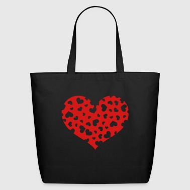 Hundreds Heart - Eco-Friendly Cotton Tote