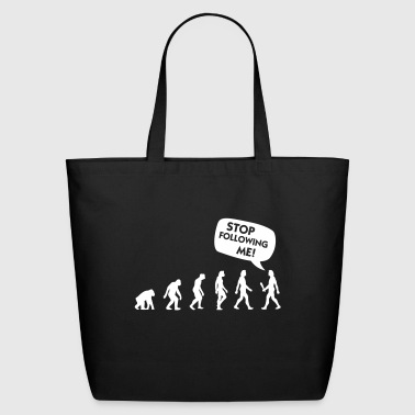 The Evolution Of A Stalker - Eco-Friendly Cotton Tote