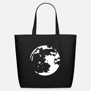 Stencil Moon Stencil - Eco-Friendly Tote Bag