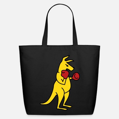Kangaroo Boxing Kangaroo - Eco-Friendly Tote Bag