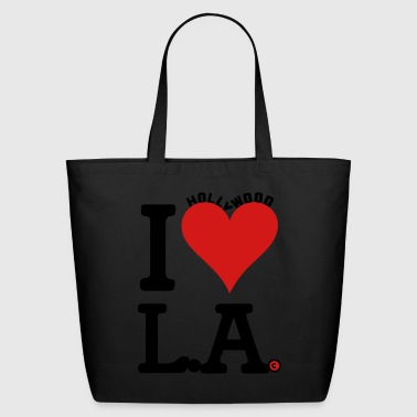 Los Angeles Los Angeles - Eco-Friendly Cotton Tote