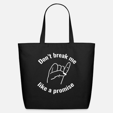 Promise promise - Eco-Friendly Cotton Tote