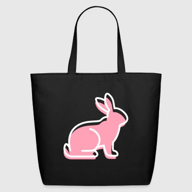 A Sitting Rabbit - Eco-Friendly Cotton Tote