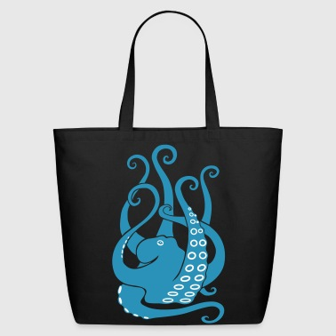 Calamari octopus squid cuttlefish calamary scuba diving - Eco-Friendly Cotton Tote