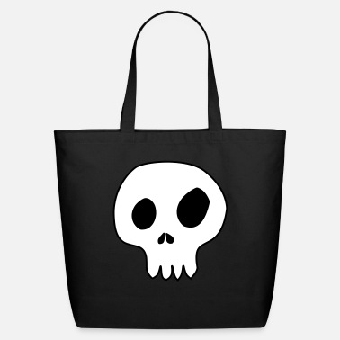 Customizable skull customizable colors - Eco-Friendly Cotton Tote