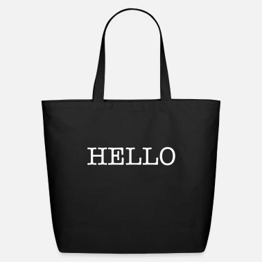 Hello Hello - Eco-Friendly Cotton Tote