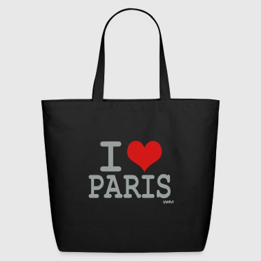 I love Paris by wam - Eco-Friendly Cotton Tote