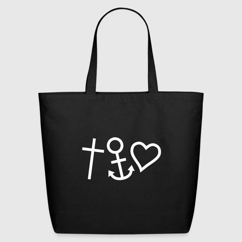Love Hope Faith Happiness - Eco-Friendly Cotton Tote