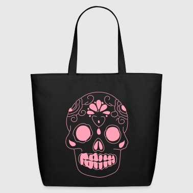 Skull mexican sugar skull - Eco-Friendly Cotton Tote