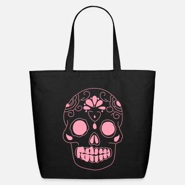 Sugar Skull mexican sugar skull - Eco-Friendly Cotton Tote