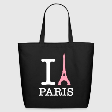 I Love Paris! - Eco-Friendly Cotton Tote
