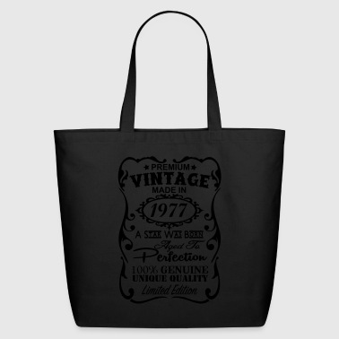 1977 - Eco-Friendly Cotton Tote