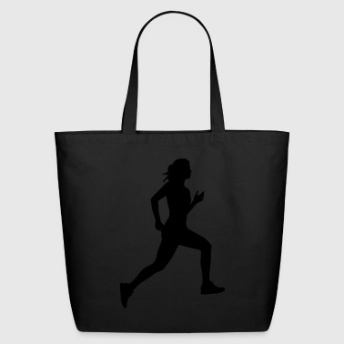 running - Eco-Friendly Cotton Tote