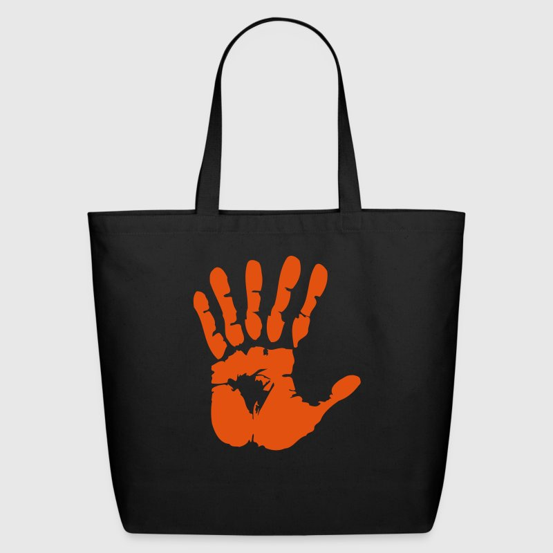 hand with six fingers - Eco-Friendly Cotton Tote