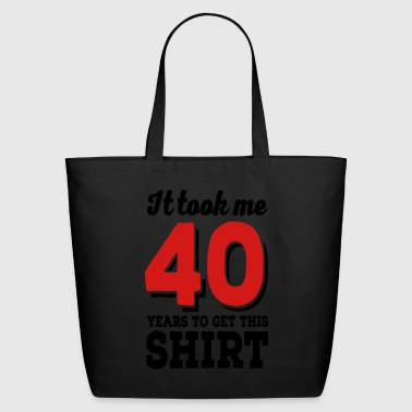 40 - Eco-Friendly Cotton Tote
