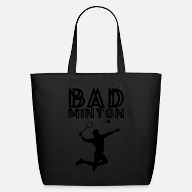Badminton Badminton Love Silhoutte - Eco-Friendly Cotton Tote