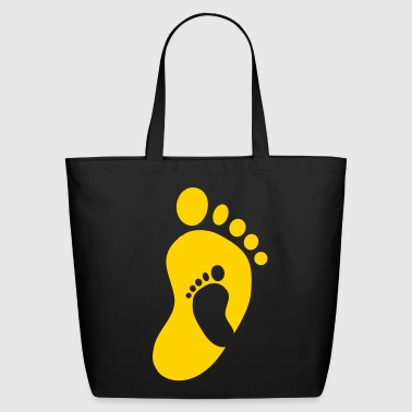 Feet Baby Feet in Feet - Eco-Friendly Cotton Tote