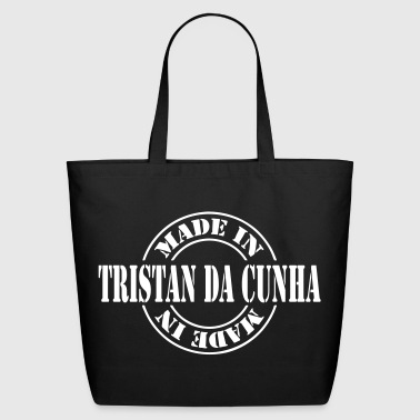made_in_tristan_da_cunha_m1 - Eco-Friendly Cotton Tote