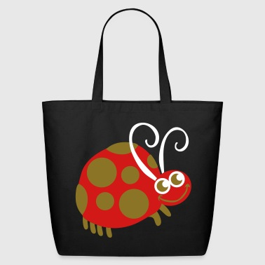 smiling dotty ladybird - Eco-Friendly Cotton Tote