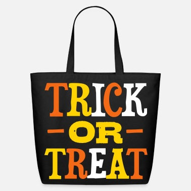 Halloween trick_or_treat - Eco-Friendly Cotton Tote