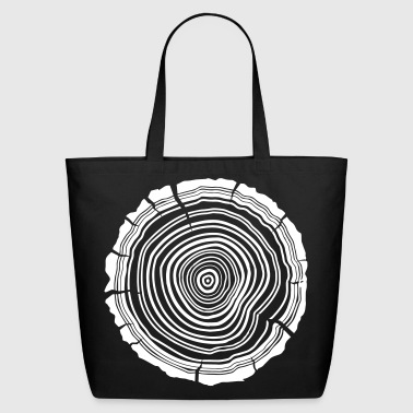 Tree Rings - Eco-Friendly Cotton Tote