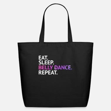 Eat Sleep Belly Dance Canvas Tote Bag