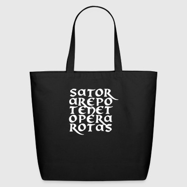 Sator Arepo Tenet Opera Rotas - Eco-Friendly Cotton Tote