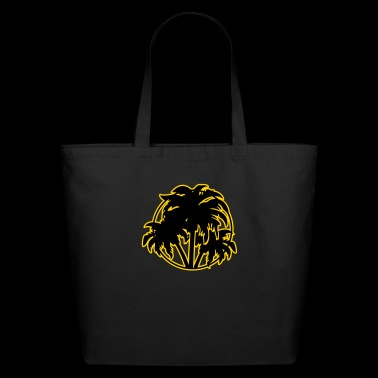 Palm trees - Eco-Friendly Cotton Tote