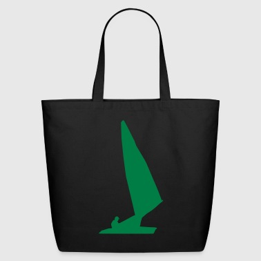 water sport silhouette 5 - Eco-Friendly Cotton Tote