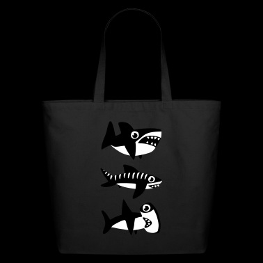 Dumb Sharks - Eco-Friendly Cotton Tote