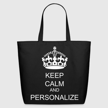 Keep Calm  crown vector - Eco-Friendly Cotton Tote