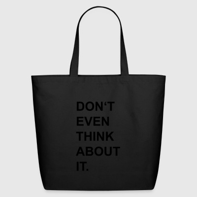 think - Eco-Friendly Cotton Tote