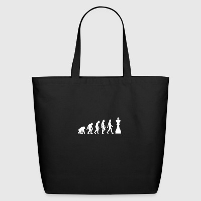 The Evolution Of Chess - Eco-Friendly Cotton Tote