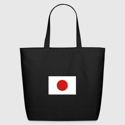 National Flag Of Japan - Eco-Friendly Cotton Tote