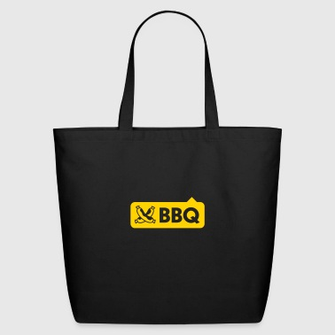 BBQ With Sausages - Eco-Friendly Cotton Tote