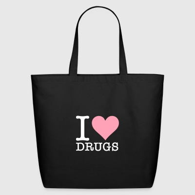 I Love Drugs! - Eco-Friendly Cotton Tote