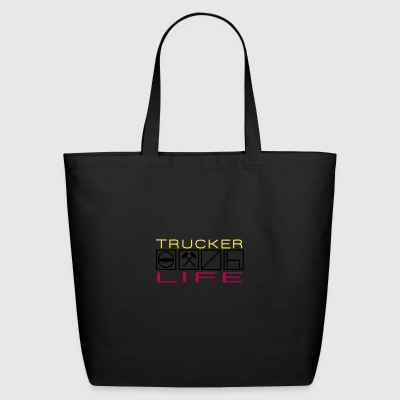 Trucker Life - Eco-Friendly Cotton Tote