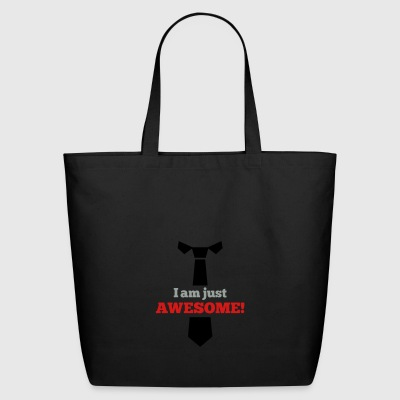Awesome tie - Eco-Friendly Cotton Tote