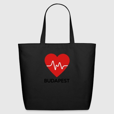 Heart Budapest - Eco-Friendly Cotton Tote